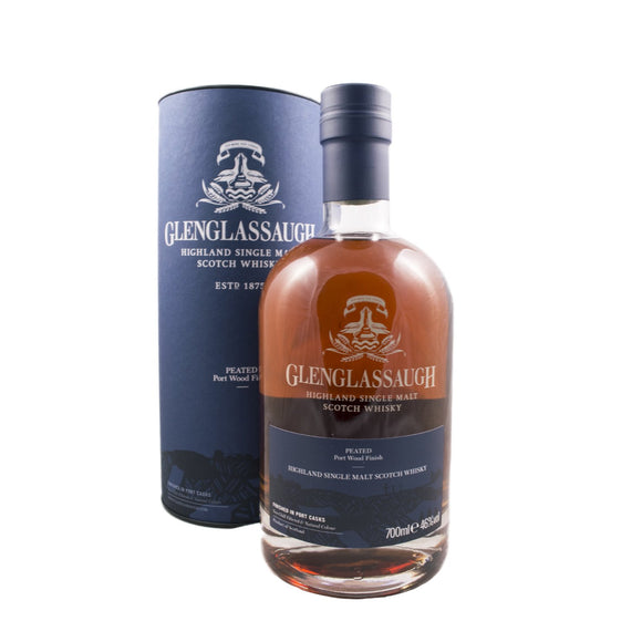 Glenglassaugh Peated Port Wood 70cl 46%