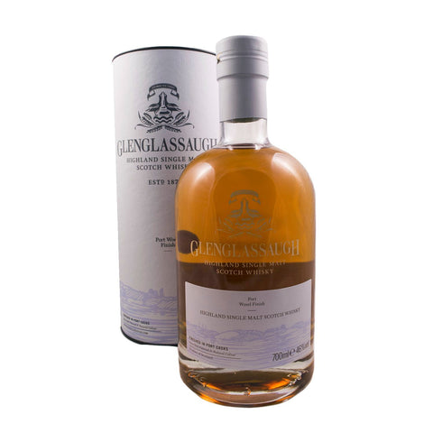 GLENGLASSAUGH PORT WOOD FINISH 70CL 46% - Aberdeen Whisky Shop