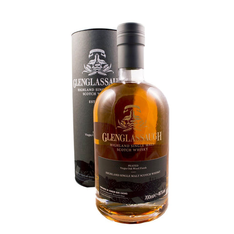 GLENGLASSAUGH PEATED VIRGIN OAK WOOD FINISH 70CL 46% - Aberdeen Whisky Shop