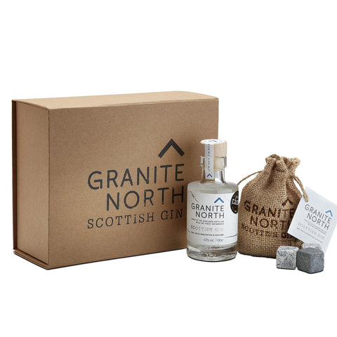 GRANITE NORTH SMALL SET WITH GIN ROCKS - Aberdeen Whisky Shop