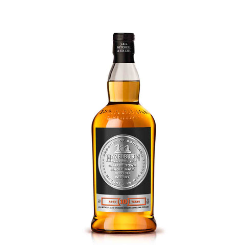 HAZELBURN 10 YEARS OLD 70CL 46% - Aberdeen Whisky Shop