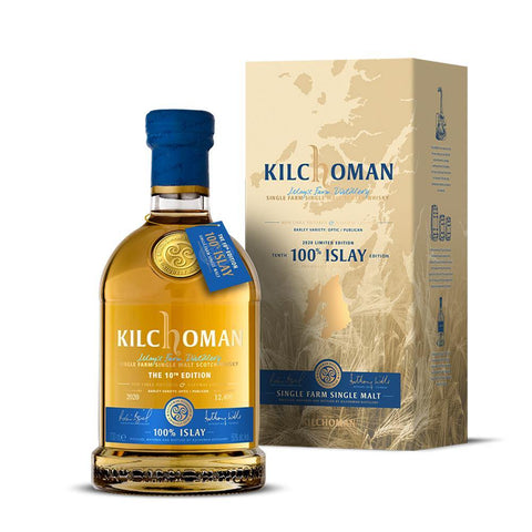 Kilchoman 100% Islay 10Th Edition 70Cl 50%