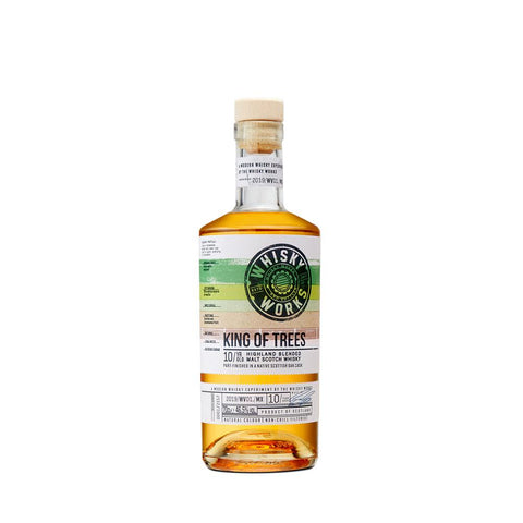 KING OF TREES 10 YEARS OLD 70CL 46.5% - Aberdeen Whisky Shop