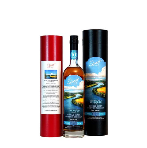 LINKWOOD 10 YEARS OLD SPIRIT OF ART 70CL 59.2% - Aberdeen Whisky Shop