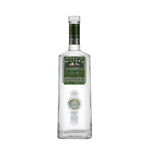 MARTIN MILLERS SUMMERFUL GIN 70CL 40% - Aberdeen Whisky Shop