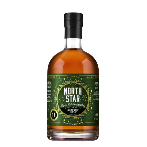 ENGLISH WHSKY COMPANY 11 YEARS OLD NORTH STAR  70CL 51.8% - Aberdeen Whisky Shop