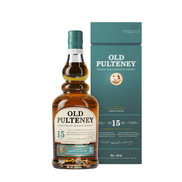Old Pulteney 15yo 70cl 46%