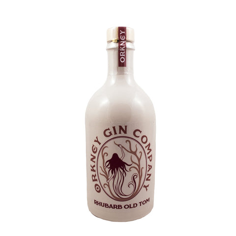 ORKNEY GIN COMPANY RHUBARB OLD TOM GIN 50CL 43% - Aberdeen Whisky Shop