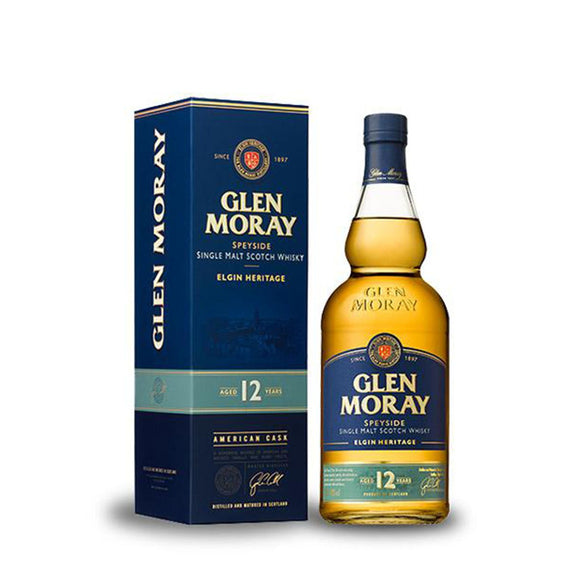 Glen Moray 12yo American Oak 70cl 40%