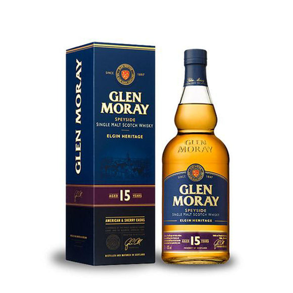 Glen Moray 15yo American & Sherry Cask 70cl 40%