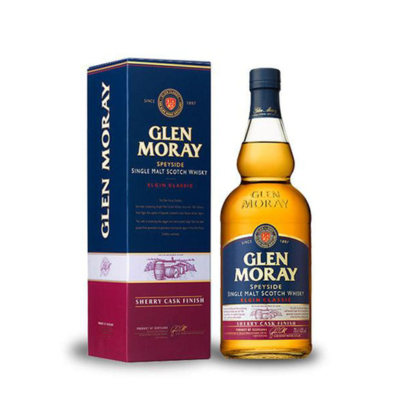 Glen Moray Sherry Cask Finish 70cl 40%