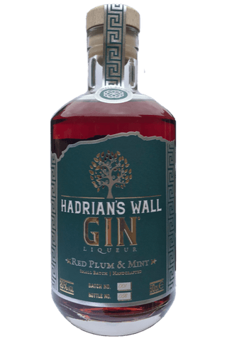 HADRIAN'S WALL PLUM AND MINT GIN LIQUEUR 50CL 20%
