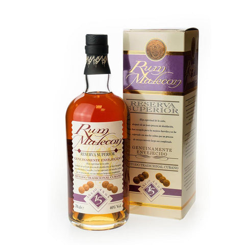 Rum Malecon 15 Years Old Reserva Superior 70cl 40%
