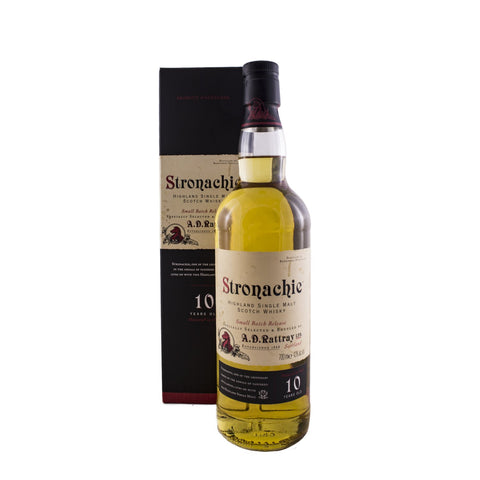 STRONACHIE 10 YEARS OLD 70CL 43% - Aberdeen Whisky Shop