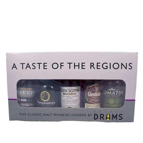 A Taste of The Regions Set 5x5cl