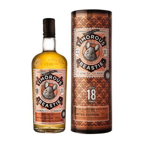 TIMOROUS BEASTIE 18 YEARS OLD DOUGLAS LAING 70CL 46.8% - Aberdeen Whisky Shop