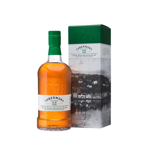 TOBERMORY 12 YEARS OLD 70CL 46.3% - Aberdeen Whisky Shop