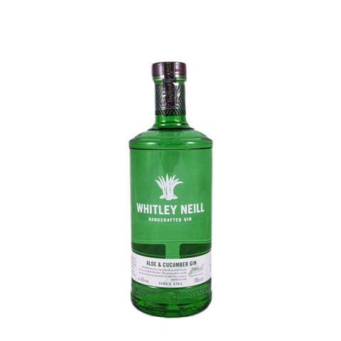 WHITLEY NEILL ALOE & CUCUMBER GIN 70CL 40% - Aberdeen Whisky Shop