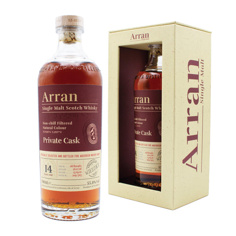Arran 14 Years Old Sherry Cask Aberdeen Whisky Shop Exclusive
