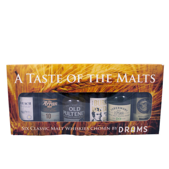 A Taste of The Malts 6x5cl
