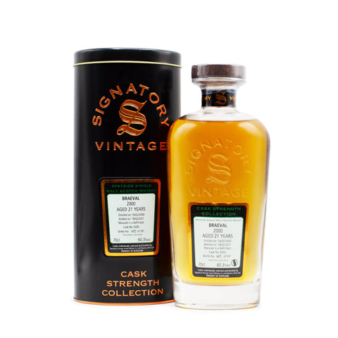 Signatory Braeval 21 Years Old
