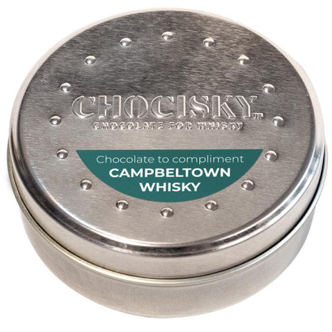 Chocisky Campbeltown Whisky Chocolate