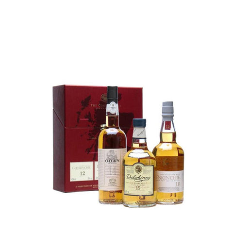 CLASSIC MALTS GENTLE COLLECTION 3X20CL - Aberdeen Whisky Shop