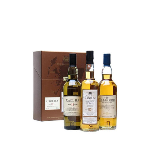 CLASSIC MALTS COASTAL COLLECTION 3X20CL - Aberdeen Whisky Shop