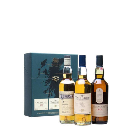 CLASSIC MALTS STRONG COLLECTION 3X20CL - Aberdeen Whisky Shop