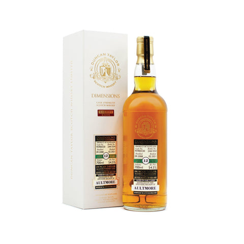 Aultmore 12 years old Dimensions 70cl 54.5%