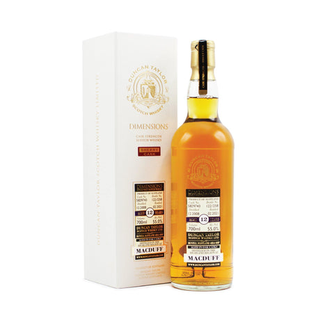 MacDuff 12 years old Dimensions 70cl 55%