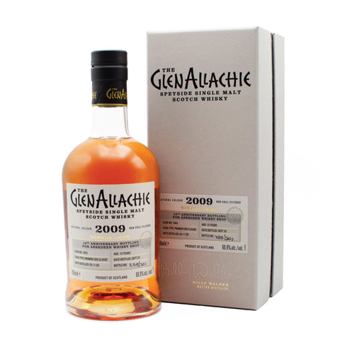 Glenallachie 2009 Premier Cru Classe Shop Exclusive 70cl 60.9%