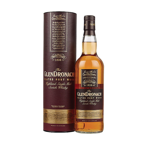 Glendronach Peated Protwood