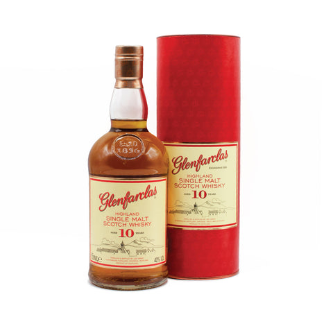 Glenfarclas 10 year old 70cl 40%