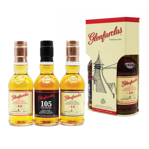 Glenfarclas Tri-pack Set