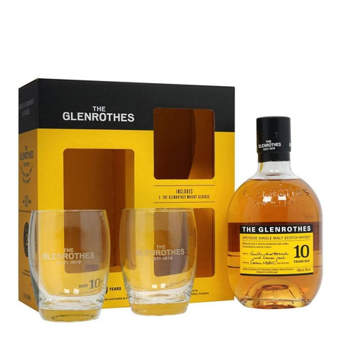 Glenrothes 10 Years Old Set