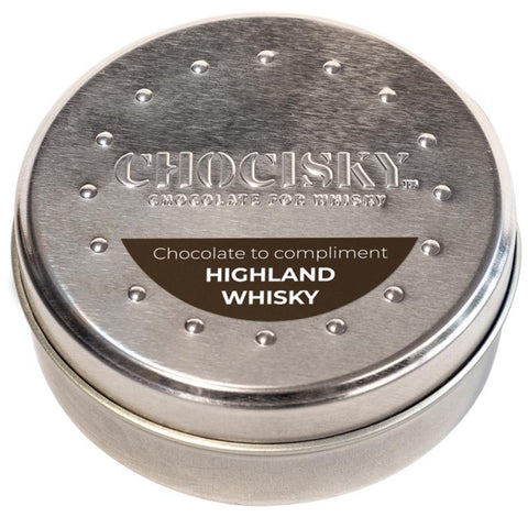 Chocisky Highland Whisky Chocolate Tin