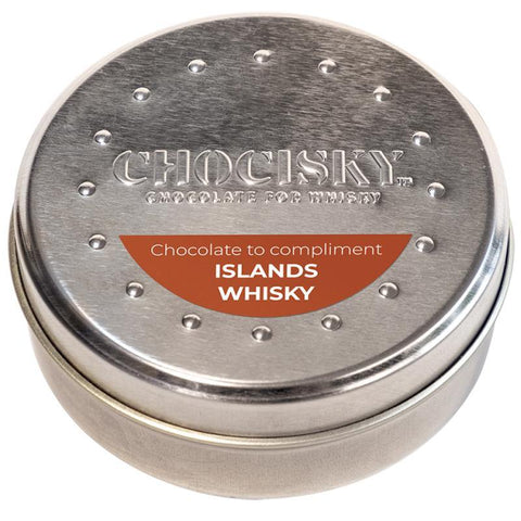 CHOCISKY ISLANDS WHISKY CHOCOLATE