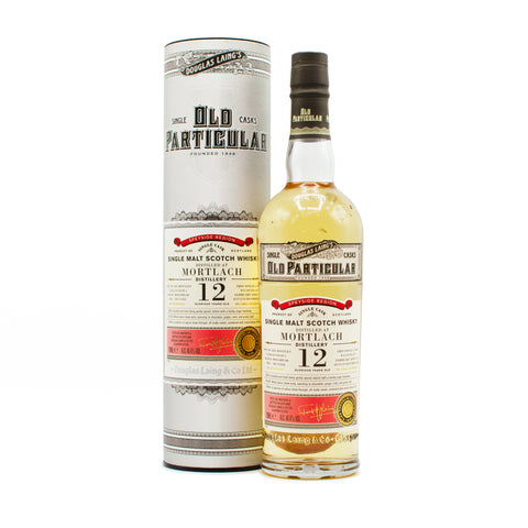 Mortlach 12 years old Old Particular 70cl 48.4%