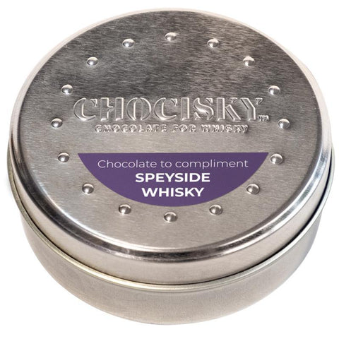 Chocisky Speyside Whisky Chocolate Tin