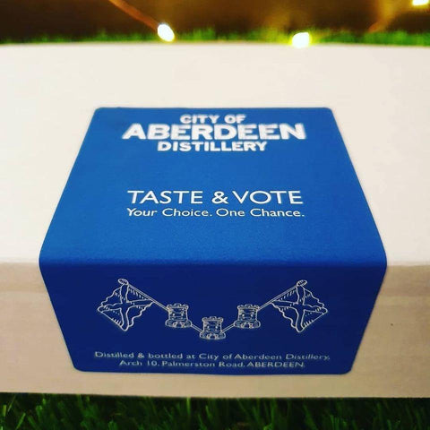ABERDEEN DISTILLERS TASTE AND VOTE 4x5CL