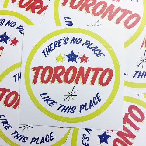 Ed's Toronto Sticker