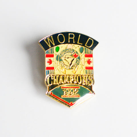92 World Series Pin