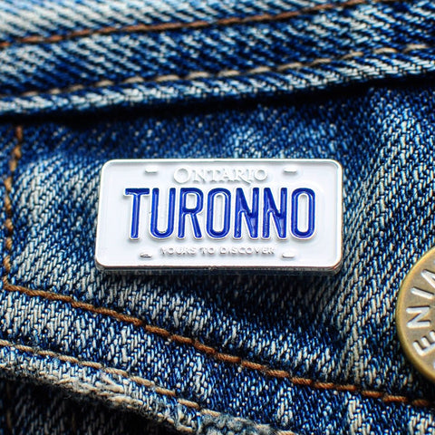 Turonno License Plate Lapel