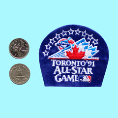 Vintage '91 All-Star Game Patch