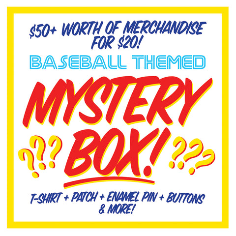 BASEBALL THEMED MYSTERY BOX!