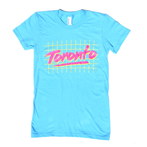 80s Toronto Grid Women's Shirt