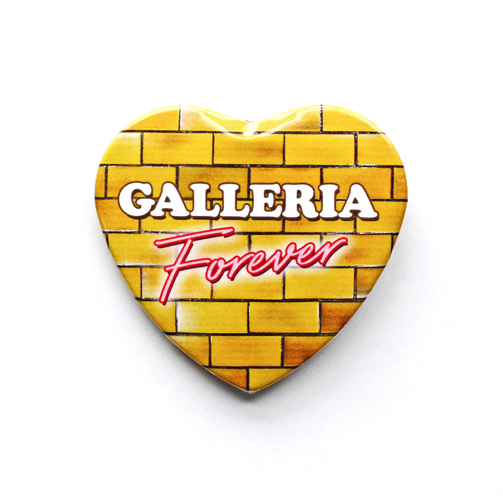 Galleria Forever Heart Button
