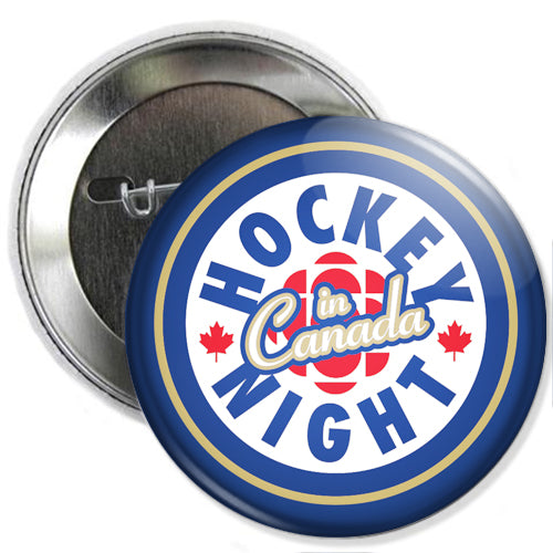 Hockey Night In Canada Buttons