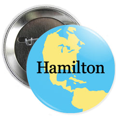 Hamilton Gas Ball Button
